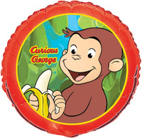 Curious George Foil Balloon