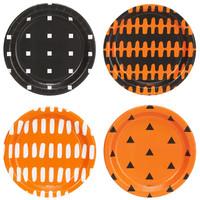 Halloween Assorted Appetizer Plates (32)