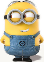 Minion Dave Stand Up - 2.5' Tall