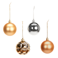 Metallic Ornament Assortment (96)