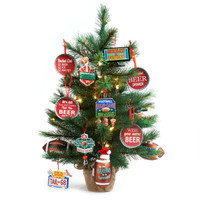 Man Cave Mini Christmas Tree Kit