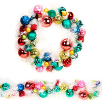 Fashion Bright Wreath & Garland Set