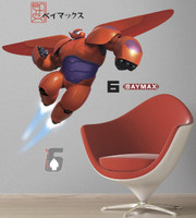Big Hero 6 Baymax Giant Wall Decal