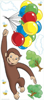 Curious George Peel & Stick Giant Wall Decals