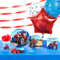 Farm Tractor Basic Party Pack