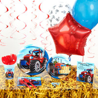 Farm Tractor Deluxe Party Pack