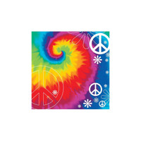 Tie Dye Fun Beverage Napkins