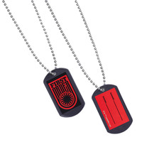 Star Wars VII Plastic Dog Tags with Sticker