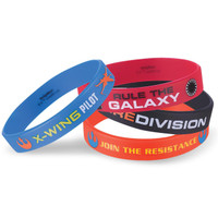 Star Wars VII Rubber Bracelets