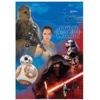 Star Wars VII Plastic Treat Bags