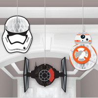 Star Wars VII Honeycomb Decoration