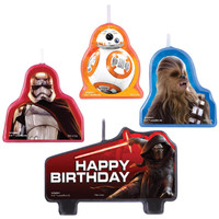 Star Wars VII Birthday Candle Set