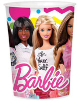 Barbie 16oz. Plastic Cup