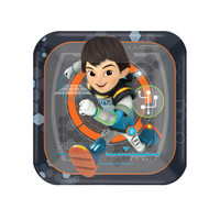 Miles From Tomorrowland Square Dessert Plates