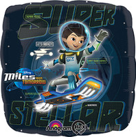 Miles From Tomorrowland Foil Balloon