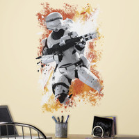 Star Wars VII Flametrooper Peel and Stick Wall Decal