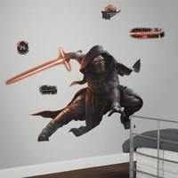 Star Wars VII Kylo Ren Glow in the Dark Giant Wall Decal