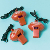 Football Whistles (12 count)