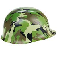 Plastic Camouflage Hat