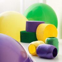 Purple, Yellow & Green Decorating Kit