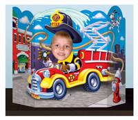 Fire Truck Photo Prop