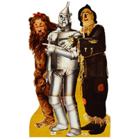 Lion, Tin Man and Scarecrow Standup