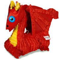 "Red Dragon 19"" Pinata"