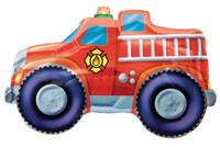 Fire Truck Jumbo Foil Balloon