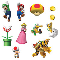 Super Mario Bros. Removable Wall Decorations