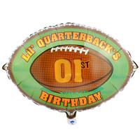 Lil' Quarterback Foil Balloon