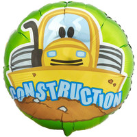 Construction Pals 1st Foil Balloon