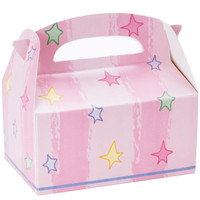 Pastel Stars Empty Favor Boxes