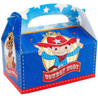 Cowboy Empty Favor Boxes