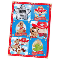 Cowboy Sticker Sheets