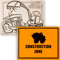 Construction Pals Activity Placemats