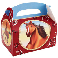 Horse Power Empty Favor Boxes