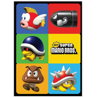 Super Mario Bros. Sticker Sheets