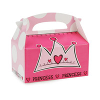 Birthday Princess Empty Favor Boxes