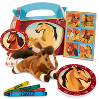 Horse Power Party Favor Box