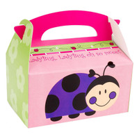 LadyBugs Oh So Sweet Empty Favor Boxes