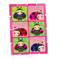 LadyBugs: Oh So Sweet Sticker Sheets