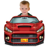 Sports Car Photo Prop