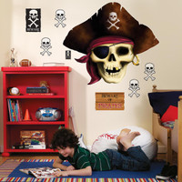 Pirates Giant Wall Decals