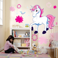 Enchanted Unicorn Giant Wall Decals