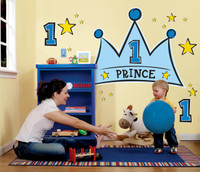 Lil' Prince 1st Giant Wall Decals