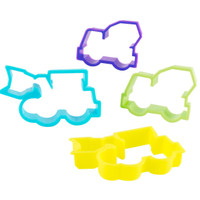 Construction Cookie Cutters Assorted