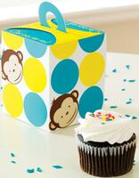 Mod Monkey Cupcake Box