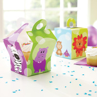Safari Friends Cupcake Boxes