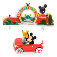 Disney Mickey & Pluto Cake Topper