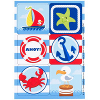 Anchors Aweigh Sticker Sheets